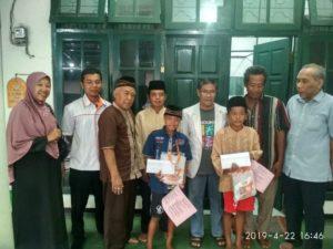 Lazismu Nganjuk Membantu Program Khitan Gratis Ta'mir Masjid Salim Mubarok As Sulthon